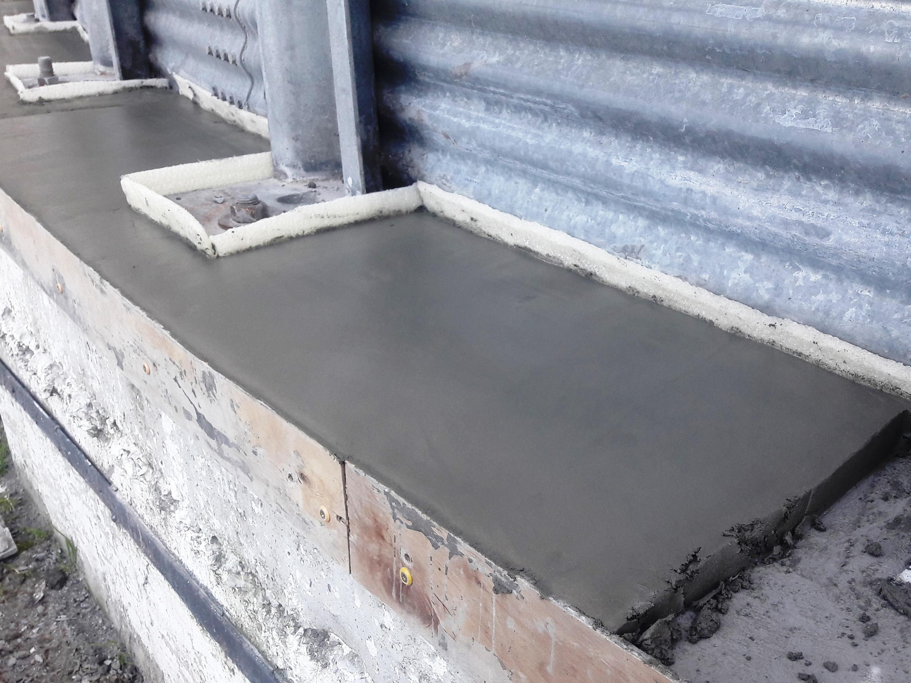 Смесь для восстановления бетонной плиты конструкция дорожной одежды из тощего бетона
